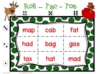 CVC Christmas Tic Tac Toe Games