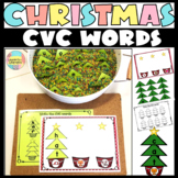 CVC Word Christmas Trees and Word Family Sorts