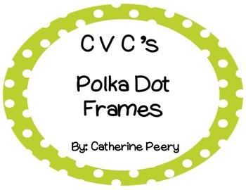 CVC Circle Polka Dot Frames