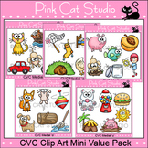 CVC Words Clip Art Mini Value Pack
