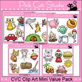 CVC Words Clip Art Mini Value Pack