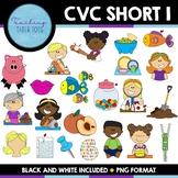CVC Clip Art- Short I