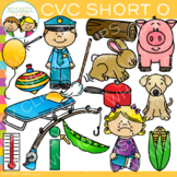 CVC Clip Art: Short O Word Family Volume One {Word Family