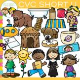 CVC Clip Art: Short U Clip Art Volume One {Word Family Clip Art}