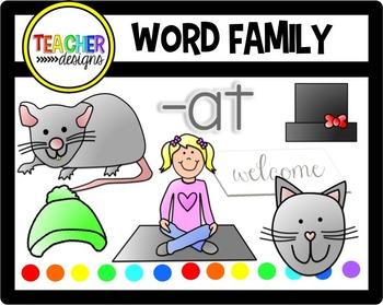 CVC Clip Art -at family