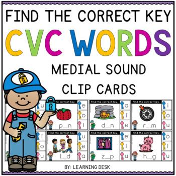 CVC Activities (Clip Cards)