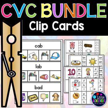 CVC Activities - Clip Cards