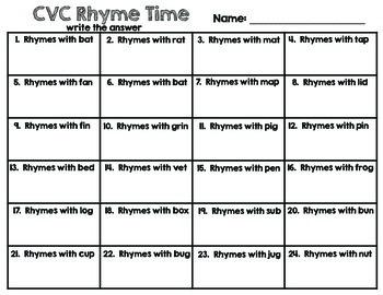 CVC Clip Cards - CVC Task Cards