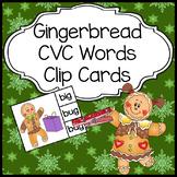 Gingerbread Man Activities: CVC Words