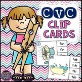 CVC Activities   CVC Clip Cards