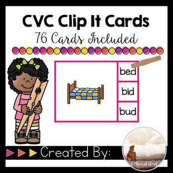 CVC Clip It Cards