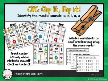 CVC Clip It, Flip It!