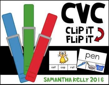CVC Station - Clip and Flip