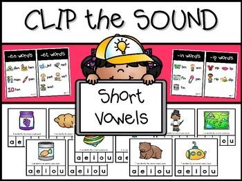 CVC Clip the Vowel Sound