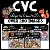 CVC Clipart BUNDLE: Moveable for Paperless Resources