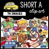 CVC Clipart: Short A