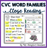 CVC Beginning Reader Comprehension Passages