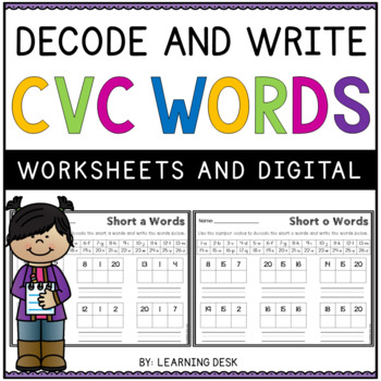 CVC Activities-CVC Worksheets