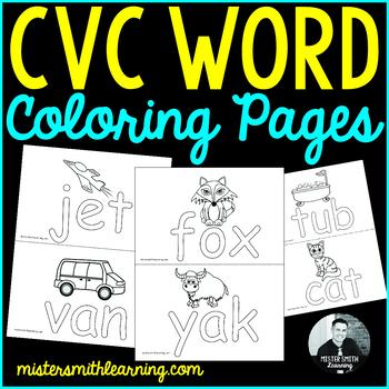 CVC Coloring Pages