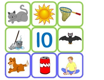 CVC (Consonant-Vowel-Consonant) Matching Game