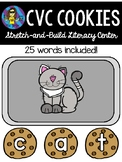 CVC Cookies Stretch-and-Build Literacy Center