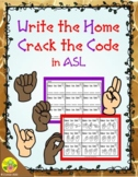 CVC Crack the Code in ASL Write the Home | Distance Learning