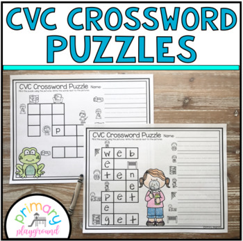 CVC Crossword Puzzles