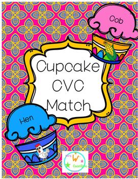 CVC Cupcake Match