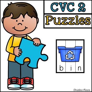 CVC Cut Apart Puzzles - Part 2