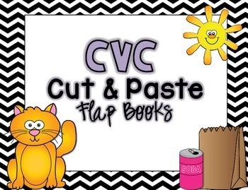 CVC Cut & Paste Flap Books