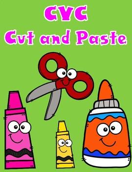 CVC Cut and Paste Activities