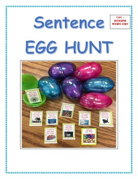 CVC  DIGRAPH  EGG HUNT (and more) ACTIVITIES