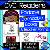 CVC Decodable Readers | Foldable Books