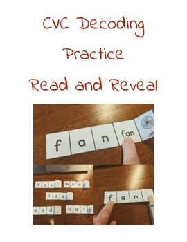 CVC Decoding Practice Read and Flip