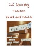 CVC Decoding Practice Read and Flip