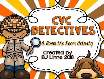 CVC Detectives Roam the Room Activity!