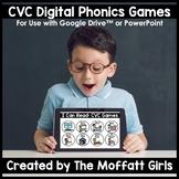 CVC Digital Phonics Games Google Classroom DISTANCE LEARNING