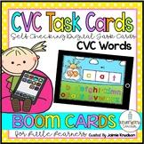 CVC Digital Task Cards / Boom Cards / Distance Learning
