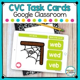 Distance Learning CVC Digital Task Cards Bundle