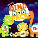 CVC Dinosaur Puzzles