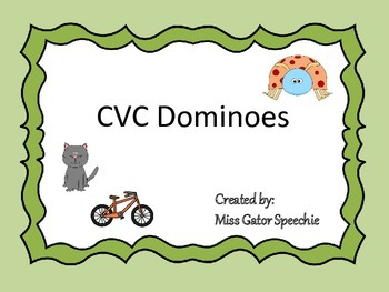 CVC Dominoes
