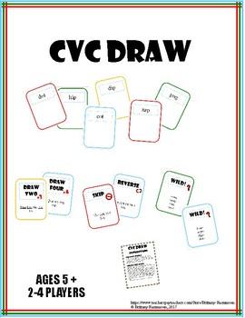 CVC Draw Game (Similar to UNO)