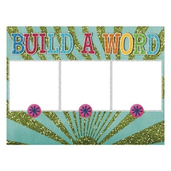 CVC Dry-Erase Printable Build-A-Word Boards for Spelling, Blending, Reading