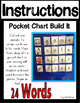 CVC-E Long Vowel Word Pocket Chart Literacy Center (24 CVC
