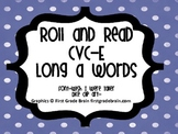 CVC-E Long a Words-Roll and Read