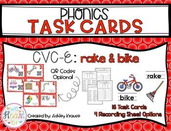 CVC-E Task Cards