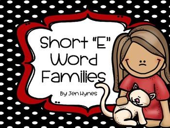 "CVC ""E"" Word Families"