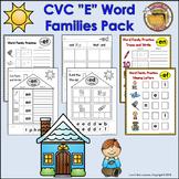 """CVC """"Ee"""" Word Families Pack"""