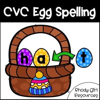 CVC Egg Spelling