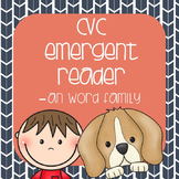 CVC Emergent Reader: Max and Miley see the -an Family